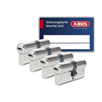 ABUS BRAVUS 3000 cilinder met kerntrekbeveiliging (4x) - SKG***