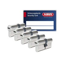 ABUS BRAVUS 3000 cilinder met kerntrekbeveiliging (5x) - SKG***