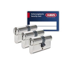 ABUS S6+ cilinder met kerntrekbeveiliging (3x) - SKG***