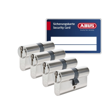 ABUS S6+ cilinder met kerntrekbeveiliging (4x) - SKG***