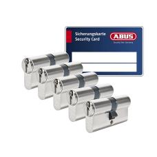 ABUS S6+ cilinder met kerntrekbeveiliging (5x) - SKG***
