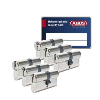 ABUS S6+ cilinder met kerntrekbeveiliging (6x) - SKG***