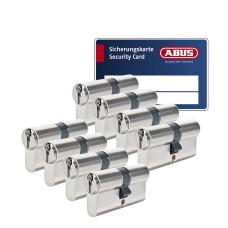 ABUS S6+ cilinder met kerntrekbeveiliging (8x) - SKG***
