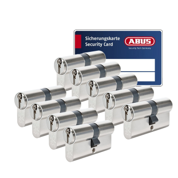 ABUS S6+ cilinder met kerntrekbeveiliging (9x) - SKG***