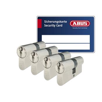 ABUS ZOLIT 1000 cilinder met kerntrekbeveiliging (4x) - SKG***