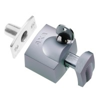 AXA 3012 Oplegslot zilver - SKG*