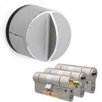 Danalock V3 + M&C Condor cilinder met kerntrekbeveiliging (3x) - SKG***