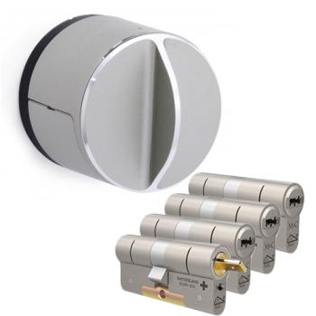Danalock V3 + M&C Condor cilinder met kerntrekbeveiliging (4x) - SKG***