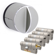 Danalock V3 + M&C Condor cilinder met kerntrekbeveiliging (5x) - SKG***