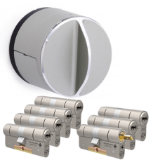 Danalock V3 + M&C Condor cilinder met kerntrekbeveiliging (7x) - SKG***