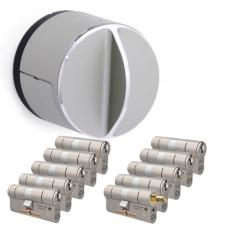 Danalock V3 + M&C Matrix cilinder met kerntrekbeveiliging (10x) - SKG***