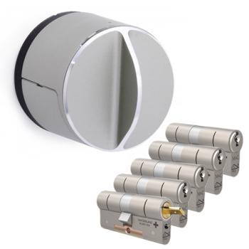 Danalock V3 + M&C Matrix cilinder met kerntrekbeveiliging (5x) - SKG***