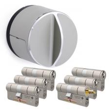 Danalock V3 + M&C Matrix cilinder met kerntrekbeveiliging (6x) - SKG***