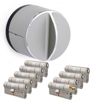 Danalock V3 + M&C Matrix cilinder met kerntrekbeveiliging (9x) - SKG***