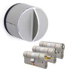 Danalock V3 + M&C Matrix cilinder met kerntrekbeveiliging (3x) - SKG**