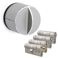 Danalock V3 + M&C Matrix cilinder met kerntrekbeveiliging (4x) - SKG***