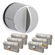 Danalock V3 + M&C Matrix cilinder met kerntrekbeveiliging (6x) - SKG**