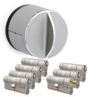 Danalock V3 + M&C Matrix cilinder met kerntrekbeveiliging (7x) - SKG**