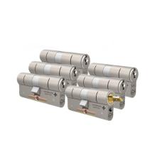 M&C Matrix cilinders voor Danalock met kerntrekbeveiliging (6x) - SKG***