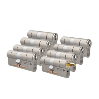 M&C Matrix cilinders voor Danalock met kerntrekbeveiliging (8x) - SKG***
