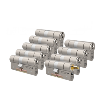M&C Matrix cilinders voor Danalock met kerntrekbeveiliging (9x) - SKG***