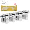 DOM ixTwinstar cilinder met kerntrekbeveiliging (4x) - SKG***