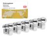 DOM ixTwinstar cilinder met kerntrekbeveiliging (5x) - SKG***