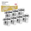 DOM ixTwinstar cilinder met kerntrekbeveiliging (7x) - SKG***