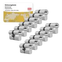 DOM ixTwinstar cilinder met kerntrekbeveiliging (12x) - SKG***