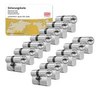 DOM ixTwinstar cilinder met kerntrekbeveiliging (13x) - SKG***