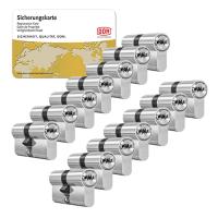DOM ixTwinstar cilinder met kerntrekbeveiliging (14x) - SKG***
