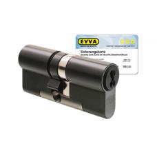 EVVA 4KS cilinder gepatineerd zwart met kerntrekbeveiliging (1x) - SKG***