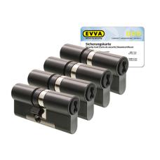 EVVA 4KS cilinder gepatineerd zwart met kerntrekbeveiliging (4x) - SKG***