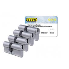 EVVA ICS cilinder met kerntrekbeveiliging (4x) - SKG***