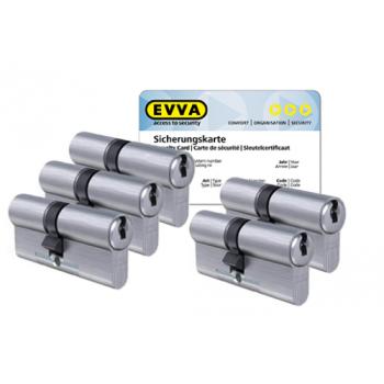 EVVA ICS cilinder met kerntrekbeveiliging (5x) - SKG***