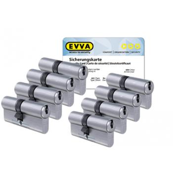 EVVA ICS cilinder met kerntrekbeveiliging (8x) - SKG***