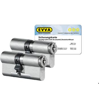 EVVA MCS cilinder met kerntrekbeveiliging (2x) - SKG***