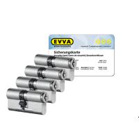 EVVA MCS cilinder met kerntrekbeveiliging (4x) - SKG***