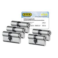 EVVA MCS cilinder met kerntrekbeveiliging (5x) - SKG***