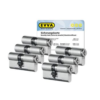 EVVA MCS cilinder met kerntrekbeveiliging (6x) - SKG***
