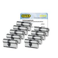 EVVA MCS cilinder met kerntrekbeveiliging (9x) - SKG***