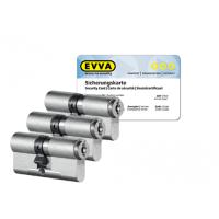EVVA MCS cilinder met kerntrekbeveiliging (3x) - SKG***
