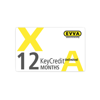 EVVA Xesar - KeyCredit Unlimited 12 maanden