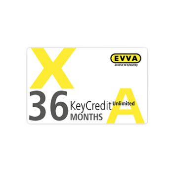 EVVA Xesar - KeyCredit Unlimited 36 maanden