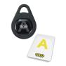 EVVA Airkey knopcilinder met NFC - gepatineerd zwart