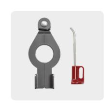 EVVA montagegereedschap set voor cilinders en hangsloten AirKey & Xesar