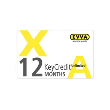 EVVA Airkey - KeyCredit Unlimited 12 maanden