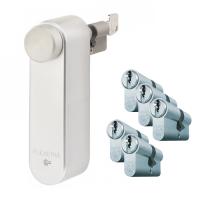 Flexeria smartlock + Mauer F3 cilinder met kerntrekbeveiliging (6x) - SKG***