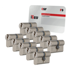 Iseo F9 cilinder met kerntrekbeveiliging (10x) - SKG***