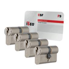 Iseo F9 cilinder met kerntrekbeveiliging (4x) - SKG***